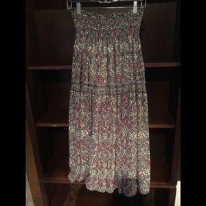 Lovely Chiffon Maxi Skirt